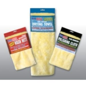 Plush MicroFiber Towel & Mitt Set