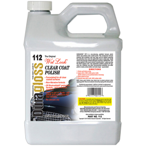 1 Gallon - Duragloss CCP (Clear Coat Polish)
