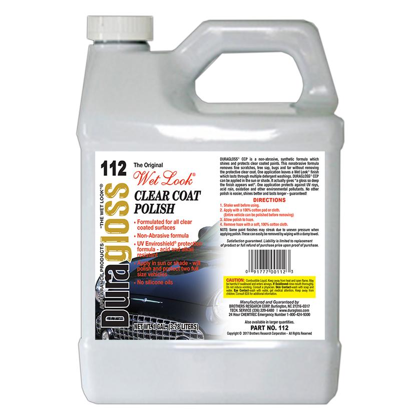 1 Gallon - Duragloss CCP (Clear Coat Polish)