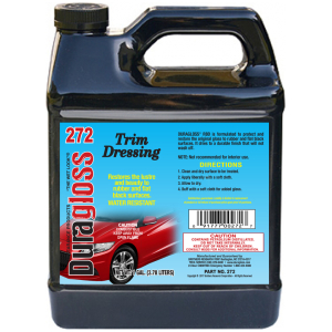 1 Gallon - Duragloss RBD (Rubber & Flat Black Dressing)