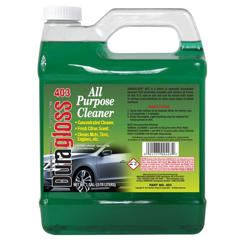 1 Gallon - Duragloss APC (All Purpose Cleaner)