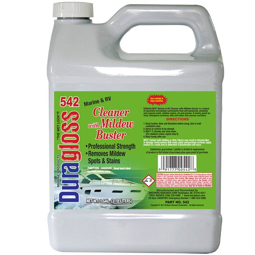 1 Gallon - Marine & RV Cleaner with Mildew Buster