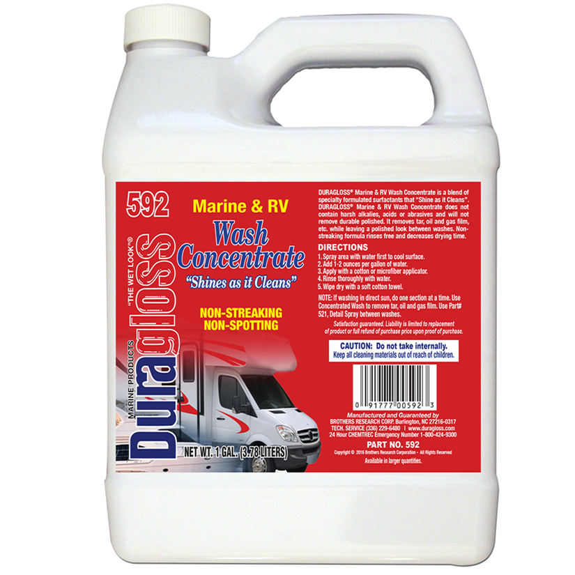 1 Gallon - Marine & RV Wash Concentrate