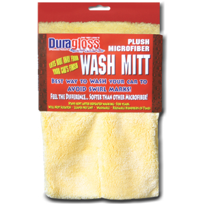 Plush MicroFiber Wash MItt