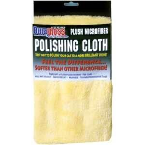 Plush MicroFiber Polishing Cloth