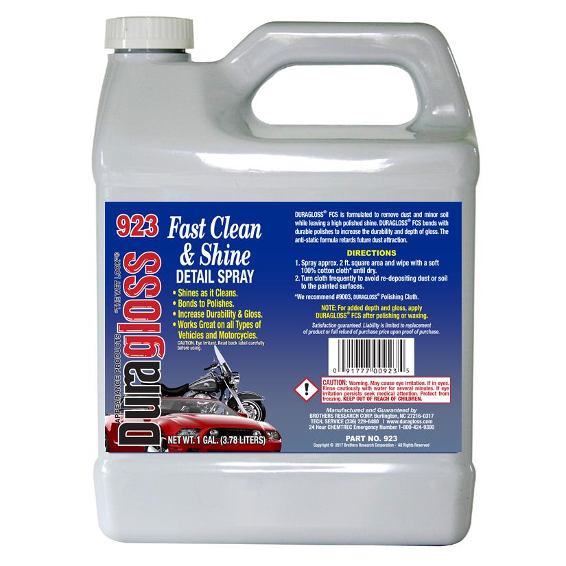 1 Gallon - Duragloss FC (Fast Clean & Shine)