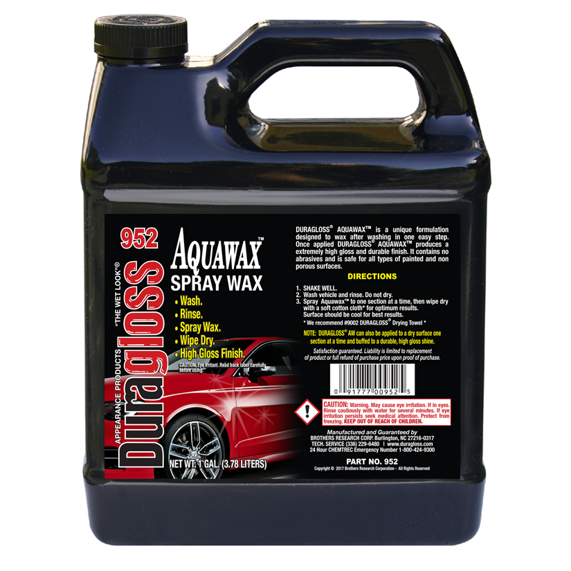1 Gallon - Duragloss AW (Aquawax)